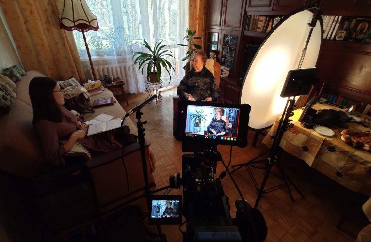 Nagranie wywiadu z p. Haliną Wiśniewską, pewiaczką