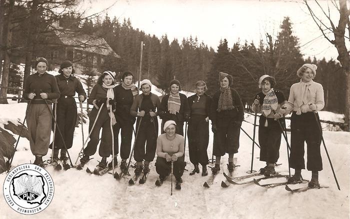 Wspomnienie kursu narciarskiego w Istebnej